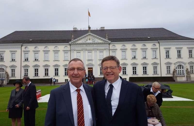 Reunión de Ximo Puig con la empresa Thyssenkrupp.