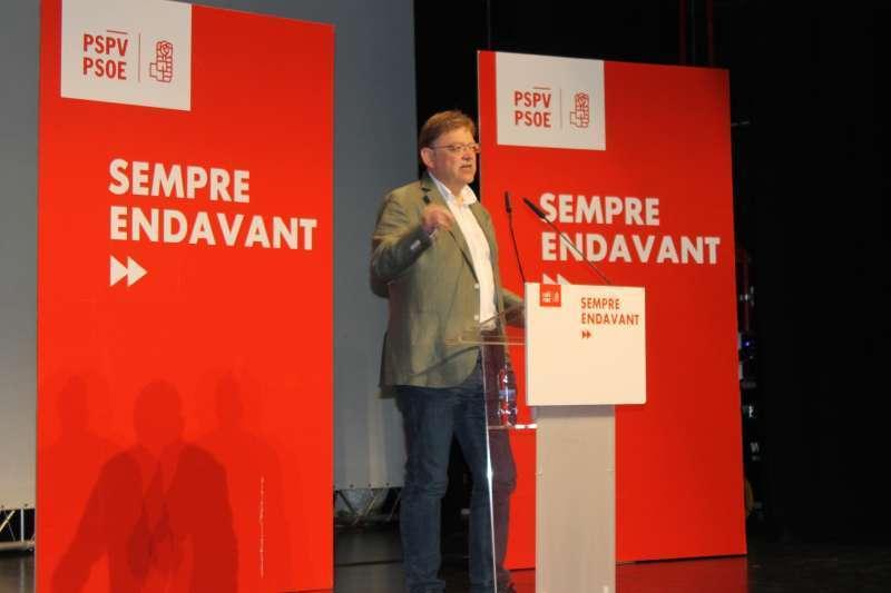 Ximo Puig del PSPV- PSOE