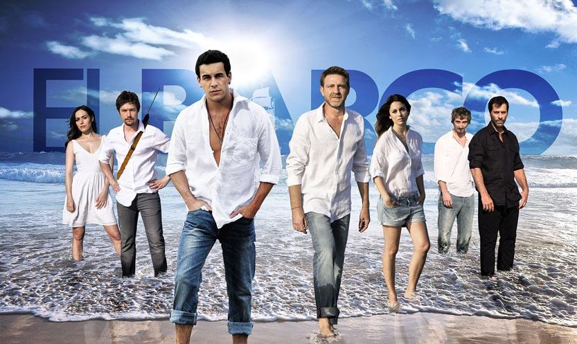 Los protagonistas de El Barco. FOTO ANTENA3