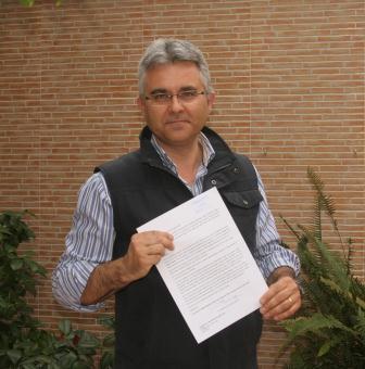 El profesor Esteban García.