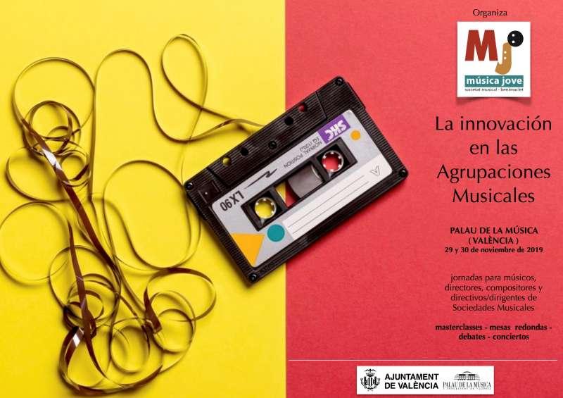 Cartel jornadas organizadas por la Asociación Música Joven. -EPDA