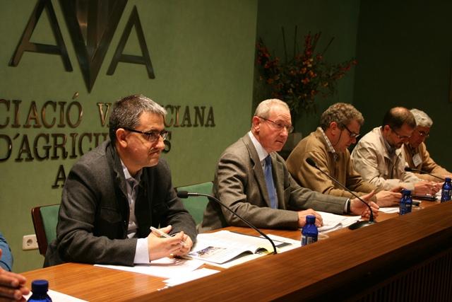 Cristóbal Aguado preside la Asamblea General de AVA-ASAJA.
