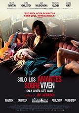 Póster de Sólo los amantes sobreviven. FOTO FILMADICTOS.COM