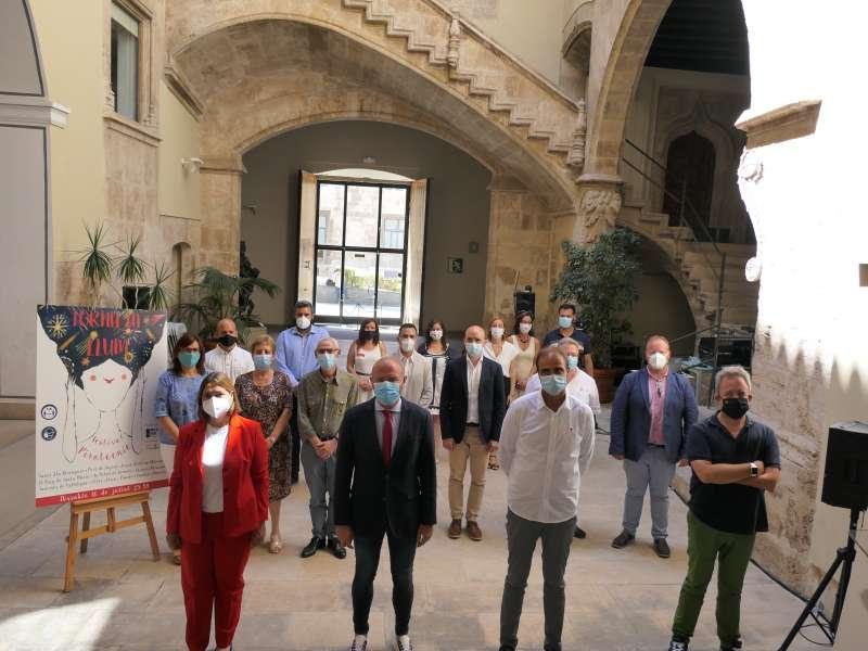 Presentación en la Diputació de València. EPDA