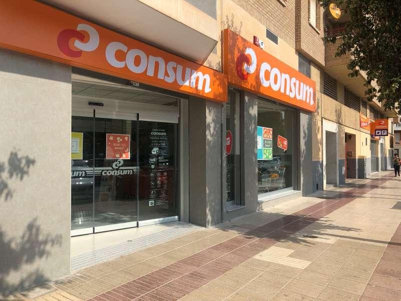 Uno de los supermercados de la cadena Consum. EPDA