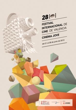 Cartel para el Festival Internacional de Cine de Valencia ? Cinema Jove. FOTO: EPDA