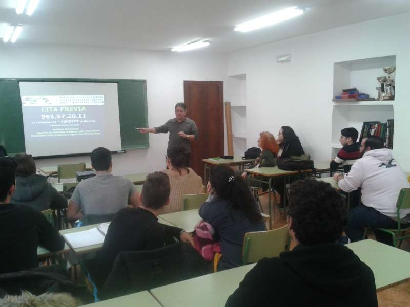 El ADL comarcal imparte formación en Picanya. EPDA