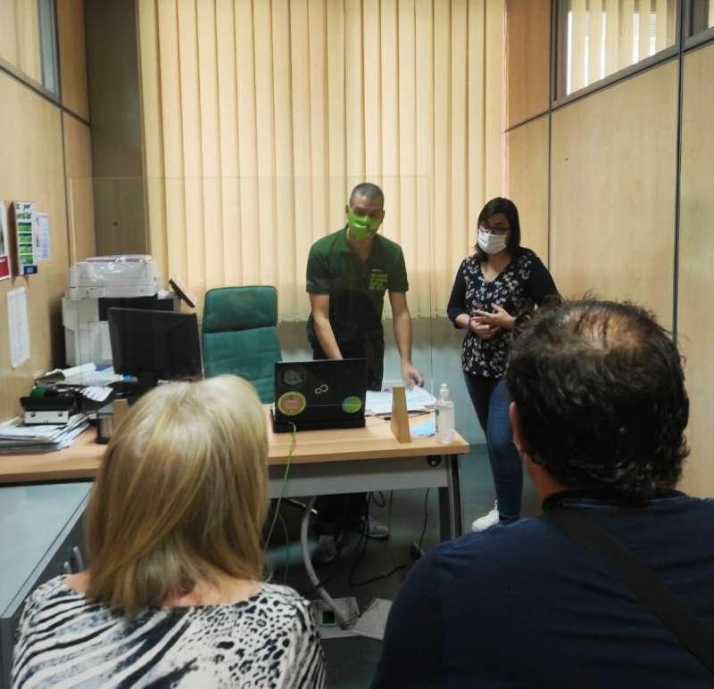 Oficina verda en Bonrepòs i Mirambell. EPDA