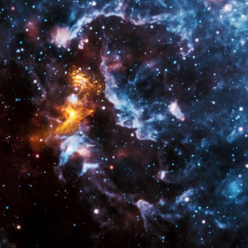 Imagen de un pulsar. EPDA