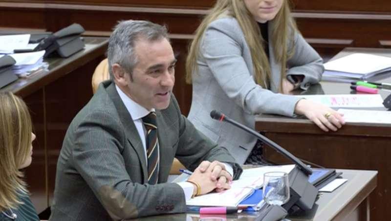 Miguel Barrachina en la Comisión de Fomento