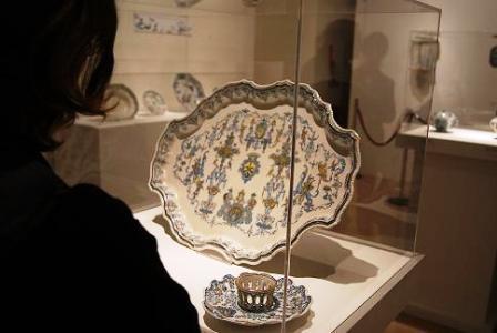 Colección de cerámica de Alcora ?Laia ? Bosch?. Foto EPDA