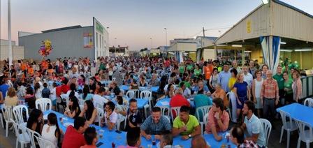 Imagen del recinto de fiestas. FOTO: EPDA