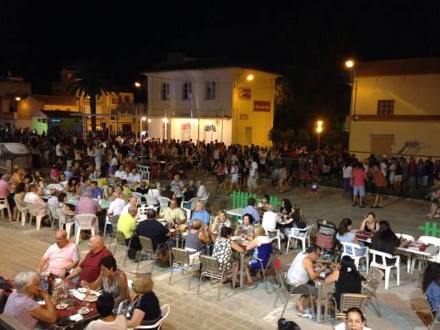 Imagen de la nit de poble. FOTO: EPDA
