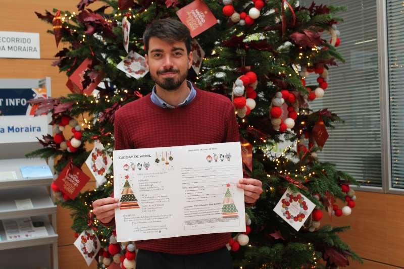 Presentación de la Escola de Nadal.