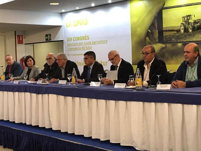 Mesa del Congreso celebrado en Alboraya. EPDA