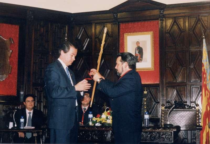 Toma de posesión de Rafael Calvo (1995)