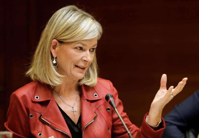 La consellera de Justicia, Gabriela Bravo. EFE/Archivo