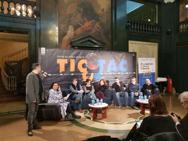 Sessió de confidències amb els creadors de Tic Tac. EPDA