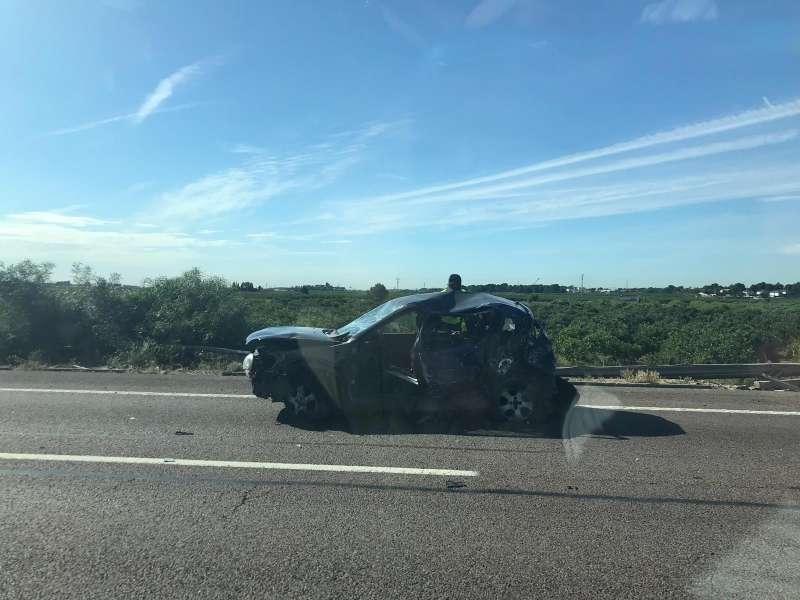 Vehículo involucrado en el accidente