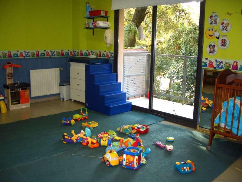 Instalaciones de una de las escuelas infantiles de la Casa Caridad