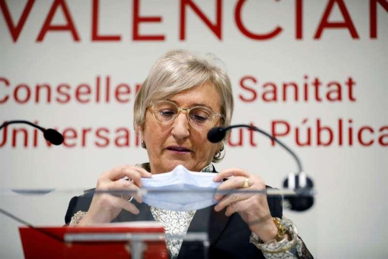 La consellera de Sanidad, Ana Barceló, en una imagen reciente. EFE