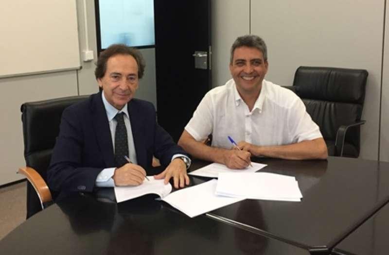Salvador Arenere, Consejero de intu y Juan Jose Martínez Durá, Director de IRTIC. epda