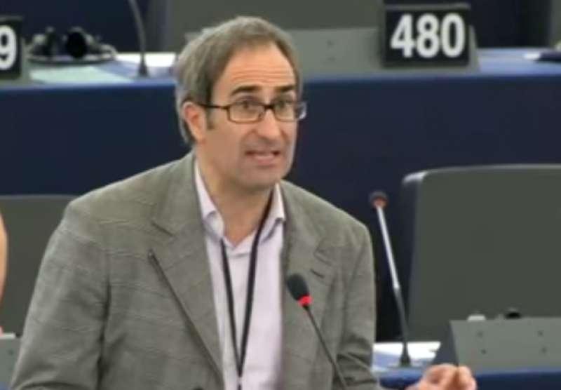 El portaveu de Compromís al Parlament Europeu, Jordi Sebastià