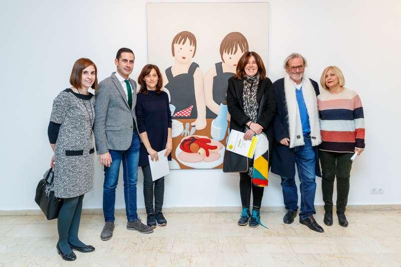Inauguración Biennal Miquel Navarro 2017 en Mislata.