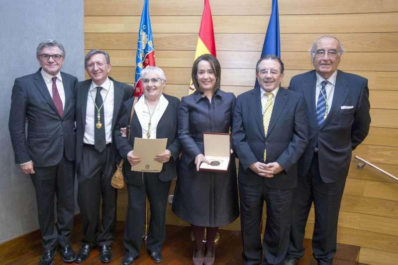 El Palau de la Música rep la Medalla al Mèrit en les Belles Arts de la Reial Acadèmia de Sant Carles