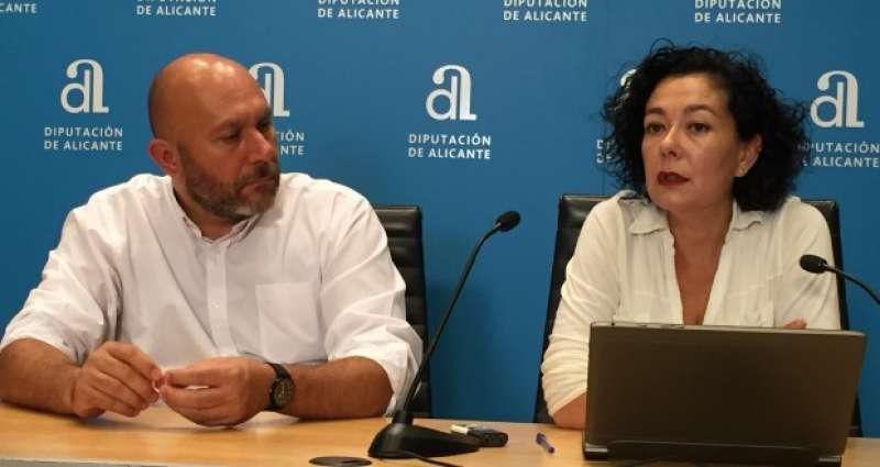 Raquel Pérez en rueda de prensa