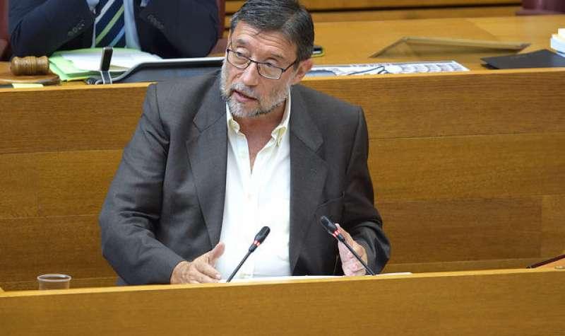 El portavoz de Sanidad de los socialistas valencianos, Ignacio Subías