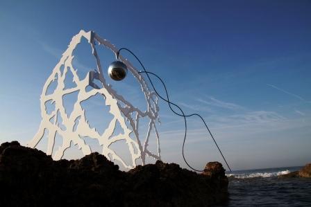 Escultura de Sandra Macías, Las Naves. Foto EPDA