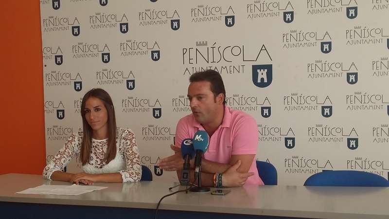 Presentación en rueda de prensa en Peñíscola.