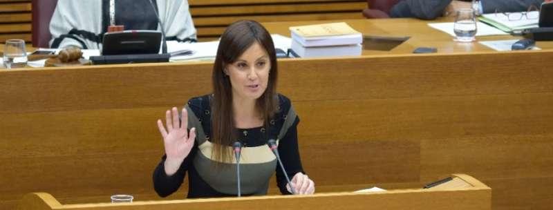 La portavoz de Medio Ambiente del Grupo Parlamentario Popular en Les Corts, Elisa Díaz