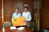 El peri�dico de aqu� -Un momento de la firma. FOTO: EPDA