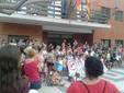 El peri�dico de aqu� -Padres, madres, profesores y alumnos en la protesta de Faura. EPDA