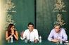 El peri�dico de aqu� -Maria Josep Amig�, Jorge Rodr�guez y Vicent Gomar. FOTO: DIVAL