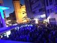 El peri�dico de aqu� -Vista general de la explanada de la fiesta del Mercat de Russafa. FOTO: EPDA