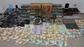 El peri�dico de aqu� -Imagen de la droga, el dinero y objetos intervenidos. FOTO: POLIC�A