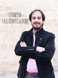El peri�dico de aqu� -Jaume Hurtado, presidente de Som Valencians. FOTO EPDA