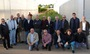 El peri�dico de aqu� -Los participantes del seminario, en los viveros junto a los cipreses que ser�n plantados. FOTO: DIVAL