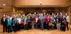 El peri�dico de aqu� -Foto de grupo junto a los mayores de Genov�s. FOTO: DIVAL