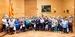 El peri�dico de aqu� -Foto de grupo con los mayores de Faura. FOTO: DIVAL