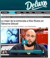 El peri�dico de aqu� -Kiko Rivera carg� contra varios colaboradores de Deluxe. FOTO TELECINCO.ES