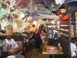 El peri�dico de aqu� -Instalaciones de Ribs durante Halloween. FOTO: EPDA