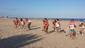 El peri�dico de aqu� -Las jugadoras del cadete e infantiles en la preparaci�n a la temporada. EPDA