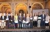 El peri�dico de aqu� -Imagen del diputado de Turismo, Sanju�n, y los premiados Social i Media. FOTO: DIVAL