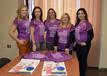 El peri�dico de aqu� -Las concejalas con las mujeres de la Asociaci�n de Comerciantes Ciutat de Sagunt. EPDA