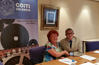 El peri�dico de aqu� -Los participantes del convenio durante la firma de colaboraci�n