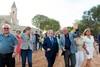 El peri�dico de aqu� -El presidente Rus, los diputados Enguix y Mora y la alcaldesa Bastidas. FOTO: DIVAL